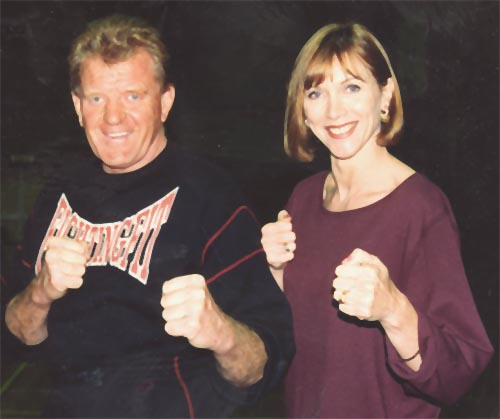 Fighting Fit - Bob Jones with Michelle Downes