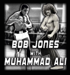 Bob Jones with Muhammad Ali